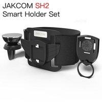 bisiklet hücresi tutacağı toptan satış-JAKCOM SH2 Akıllı Tutucu Cep Telefonu Mounts Set Sıcak Satış olarak gps smartphone bisiklet tutucu soporte telefono coche Tutucular