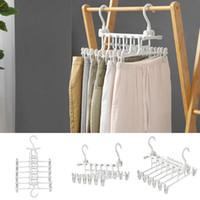 neue haushaltsgegenstände großhandel-Neu New Household Multifunktionale Falten Multi-Layer-Hosen Kleiderbügel New Household Items
