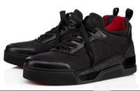 sapatilhas diretas da fábrica venda por atacado-2018 direto da fábrica quente Aurelien Sneakers Women Flat, Mens Red Shoes inferior qualidade perfeita Casual Outdoor instrutor presente perfeito