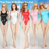 coolsten bikinis großhandel-Feuer Mädchen Spielzeug FG057 1/6 Skala Sexy ein Stück sexy Coole Bikini-Kleidung für 12