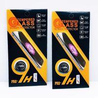 paquete protector de pantalla caja de embalaje al por mayor-Paquete de caja vacío Paquete de paquete al por menor Paquete Protector de pantalla de cristal templado Premium 9H para iphone XS Max XR X 8 Galaxy S7 Egde Huawei
