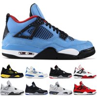 Wholesale pony shoes men for sale - Group buy Designer s Men Basketball Shoes Cactus Jack Alternate Pure Money Pony Black IV Sport Athletics Men Sneakers