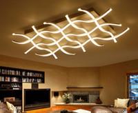 Plafoniere Da Soffitto Moderne : Vendita all ingrosso di sconti moderne luci a soffitto quadrate in