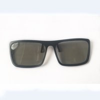Wholesale 3d glasses video games resale online - Fahion Sunglasses Style D Polarized Glasses Stereo Glass Special glasses for the cinema For Dimensional Anaglyph Movie Game DVD Video TV