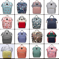 Wholesale backpacks for travel for sale - 60 styles Mummy Maternity Nappy Bag Large Capacity Baby Bag Travel Backpack Desiger Nursing Bag for Baby Care Diaper Bags mini order