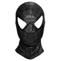 Wholesale red spiderman masks resale online - High Quality Spiderman Venom Mask Adult and Kids Spider man Lenses Cosplay Costumes Halloween Superhero Masks