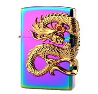 Wholesale newest electronics for sale - Group buy Newest Beautiful Dragon Metal USB Double Arc Rechargeable Electronic Lighter Cigarette Turbo Smoking Cigar Windproof Lighters