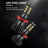 Wholesale fluence car for sale - Group buy 2pcs H9 H11 H8 LED Fog Light Bulb Auto Driving Lamps For Renault Megane Fluence Koleos Latitude car accessories