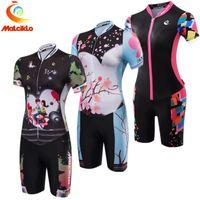 terno de lycra venda por atacado-Pro Team Triathlon Terno das Mulheres Camisa de Ciclismo Skinsuit Macacão Maillot Ciclismo Roupas Ropa ciclismo Corrida de Bicicleta Sports Set