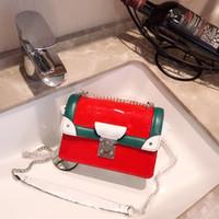 heiße rosa lacklederhandtasche großhandel-Pink sugao designer umhängetasche frauen handtaschen luxus geldbörsen heiße verkäufe marke handtasche lackleder tasche für dame top qualität großhandel