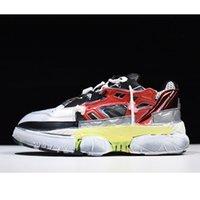fusion sneakers großhandel-Neuerscheinung Maison Margiela Fusion Sneakers Liebhaber Papa Schuhe Distressed Leder Mesh Sneakers Europäische Größe 35-44