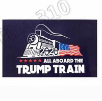 Wholesale classic small cars resale online - New trump car sticker Donald Trump locomotive stickers Train window Sticker Home Living Room Decor Wall Stickers