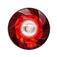 ingrosso luce anti collisione principale-LED rosso luce di emergenza multi-funzione per la sicurezza stradale del chiarore di segnalazione lampeggiante Strobe impermeabile incidente anticollisione Luce JK0776