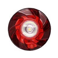 Wholesale red white led strobe resale online - Red LED Emergency Light Multi function Road Safety Flare Warning Flashing Strobe Waterproof Accident Anti collision Light JK0776