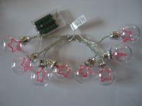 Wholesale New G50 Battery Box LED Decoration Lamp Christmas Tree Pentagon Customization