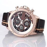 Wholesale analog watch compass for sale - New Style Tradition Expert Solar Soccer Compass Chronograph Quartz Deployment Clasp Prs516 Men Watch Wristwatches Mens Watches