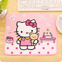 Wholesale priced laptops for sale - Group buy Hello Kitty Cute Laptop Computer Mouse Pad Mat Pink Black Color Price