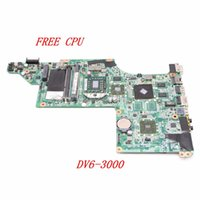 Wholesale NOKOTION Laptop Motherboard For HP Pavilion DV6 DA0LX8MB6D1 Main Board HD5470M DDR3 Free CPU WORKING