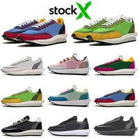 Wholesale cut out shoes women for sale - Group buy sacai ldv waffle running shoes men women chaussures triple black white Pine Green Gusto Varsity Blue mens trainers sports sneakers