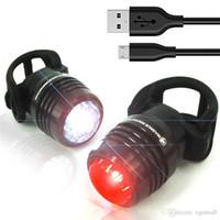 fahrrad-licht-kits großhandel-360 Bike Light Kit, Superhelles USB-Combo-Beleuchtungsset für 16 Stunden, für alle Mountainbikes, Rennräder, Rucksäcke, wasserdichte Insta