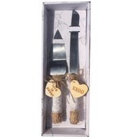 делитель из нержавеющей стали оптовых-Европейский классический нож для торта лопатой свадебные столовые приборы набор посуды из нержавеющей стали делитель торта тернер посуда столовая посуда