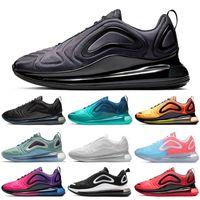 chaussure de golf à prix réduit achat en gros de-Nike Air Max 720 Shoes Remise Chaussures de course pour hommes Femmes Mer Forêt Coucher De Soleil Gris Carbone Hommes Baskets Sport Baskets 36-45