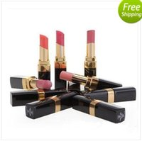 Wholesale lipstick new for sale - Group buy HOT New Makeup Lips Rough Shine Lipstick g
