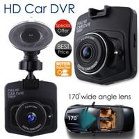 Wholesale black video recorder resale online - Full P GT300 HD Car DVR Vehicle Camera Video Recorder Dash Cam Night Vision