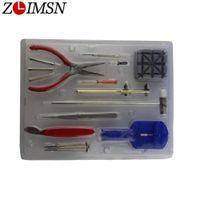 Wholesale watchband repair kit resale online - ZLIMSN Watchband Link Remover Tool A Set Repair Table Tool Set Repair Tools Kits In Opener Tool Clock Watch Kits