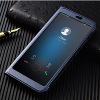 Wholesale honor view flip cover online – custom View Case on Huawei Honor V10 Full View window luxury PU leather flip cover case for Huawei Honor View V10