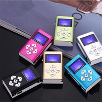 Wholesale song mp3 player for sale - Group buy Mp3 Player USB Mini Clip MP3 Player LCD Screen Support GB Micro SD TF Card Radio Walkman Pocket Audio Song Subtitles Colors