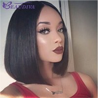 Wholesale bob cut natural african hair for sale - Wigs for Black Women Pixie Cut Short Human Hair Wigs for Women Bob Full Lace Front Wigs with Baby Hair for Africans American