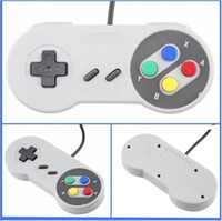 super xbox venda por atacado-New Classic USB Controladores Controlador PC Gamepad Joypad Joystick de substituição para Super Nintendo SF SNES NES Tablet PC LaWindows MAC