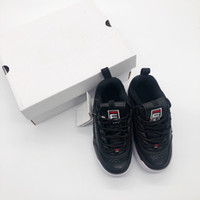 various colors 6d46b 47878 Ingrosso bambini scarpe sportive bianche in vendita - Original FILA  Disruptors II 2 new Baby Kids
