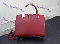 Wholesale red crossbody handbags resale online - Designer Bags MONTAIGNE Tote Women Luxury Leather Shoulder Bags purse Floral Print Handbags Crossbody big shopper Bag Business Laptop bag