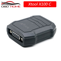 leitor de códigos de pinos audi venda por atacado-XTOOL X100C Auto Programador Chave para Mazda / para Peugeot / para Citroen 4 em 1 leitor de código PIN melhor do que F100 F108 F102