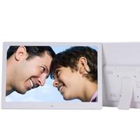 marco de fotos publicitario al por mayor-15,4 pulgadas Multi-función de marco de fotos digital de pared Formato álbum completo electrónico de vídeo publicidad del jugador