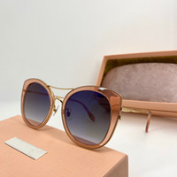 Wholesale cat flowers for sale - Group buy 068 Sunglasses For Women Designer Popular Frameless Flower Shape Sunglasses Crystal Metarial Fashion Women Style Come With Pink Case