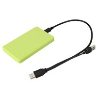 Wholesale sata laptop hd online - USB quot SATA HD Hard Disk Drive HDD SSD External Case Enclosure Box Caddy up tb for Mac OS Notebook Laptop PC Green