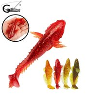 Wholesale soft lures shad for sale - 5pcs Fly Soft Bait Fishing Fish Lure cm g Silicone Plastic Swimbait Shad Crankbait Use for Rig Fishing Colors for Choose