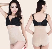 Wholesale slim body belt butt shaper resale online - High Waist Women Slimming Underwear Slimming Control Panties Body Shaper Butt Lift With Tummy Control Brief KKA6425