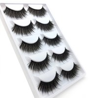 Wholesale long synthetic hair braid for sale - Group buy WZ08 False EyeLashes Pairs D Natural Long Fake Eyelashes Crossed mesh braided false eyelashes