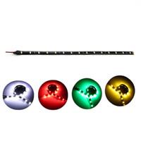 elektrik şeritleri toptan satış-30 cm Araba LED Şerit Işık Yüksek Güç 12 V 15SMD Araba DRL Lamba Su Geçirmez LED Esnek Gündüz Koşu Işık Dekoratif