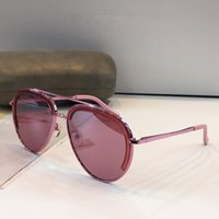 Wholesale red mirror sunglasses aviator for sale - Womens Brand Luxury Designer Sunglasses Aviator Metal Frame Noble Specially Designed Authentic Glaases UV400 Sunshades Eyewear With case