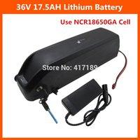 scooters électriques utilisés achat en gros de-36V 17AH batterie au lithium 1000W 36V 17.5AH hailong vélo électrique utilisation de la batterie E-Scooter Sanyo GA cellule 42V 2A chargeur 30A BMS
