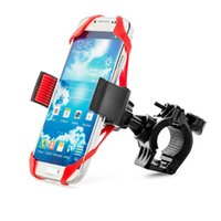 Wholesale motor phones for sale - Group buy Universal Anti drop Motor Bicycle Handlebar Mountain Bike Riding Bracket Mount Holder for Smart Phone GPS Navigation Stands