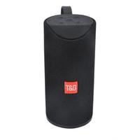 drahtloser bluetooth lauter basslautsprecher groihandel-TG113 Lautsprecher drahtloser Bluetooth-Lautsprecher Subwoofers freihändiger Anruf Profil Stereo Bass Bass-Unterstützungs-TF-Karte USB AUX Line In Hallo-Fi Laut