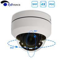 ir ip ptz kuppel großhandel-PoE Onvif HD 5MP H.265 IR Innenmini 5.0MP CCTV-Sicherheits-IP-PTZ-Dome-Kamera mit 4fach optischem Zoom Hauptüberwachung 5Mega