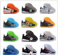sneaker ad großhandel-2018 New Kobe AD React Exodus Derozan Schwarz Silber Lila Rosa Basketball Schuhe Hohe qualität KB Mens Trainer Sport Turnschuhe Size7-12