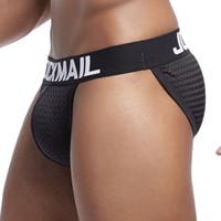 protuberância nylon mens venda por atacado-Verão Código Mens Sexy Micro Malha Briefs Soft Respirável Bulge Pouch Underwear